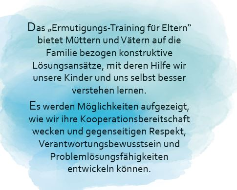Ermutigungstraining